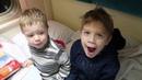 едем к бабушке в поезде что подарили детям ОБЗОР Поезда Нижегородец Москва Нижний Новгород