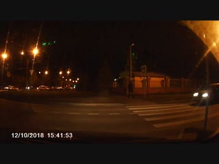 Наезд на пешехода, перекресток б. Миттова и ул. Гражданская