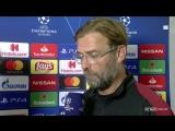 Jurgen Klopp - Liverpool deserved to lose against Napoli