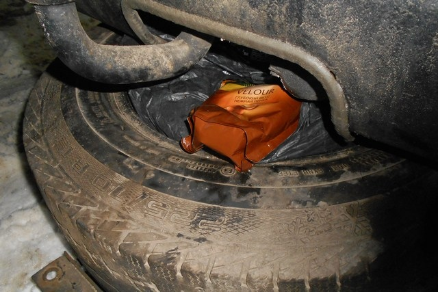 Таганрогские таможенники обнаружили в автомобиле гражданина Украины тайники с кофе