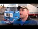 IFA-Fans Christian und Sebastian Bauer mit Ihrem W-50 in Gera