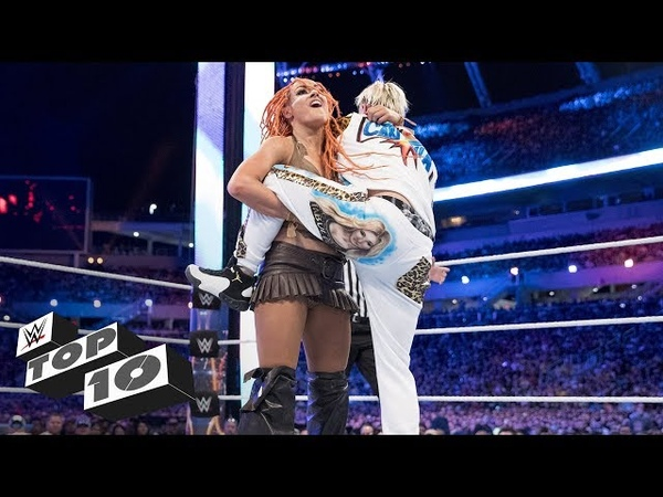 Female Superstars overpowering male rivals WWE Top 10, March 5, 2018