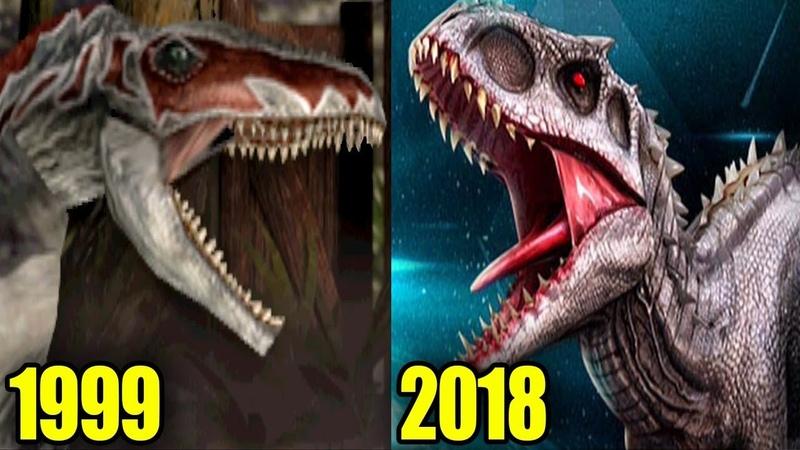 EVOLUTION of INDOMINUS REX (1999-2018)
