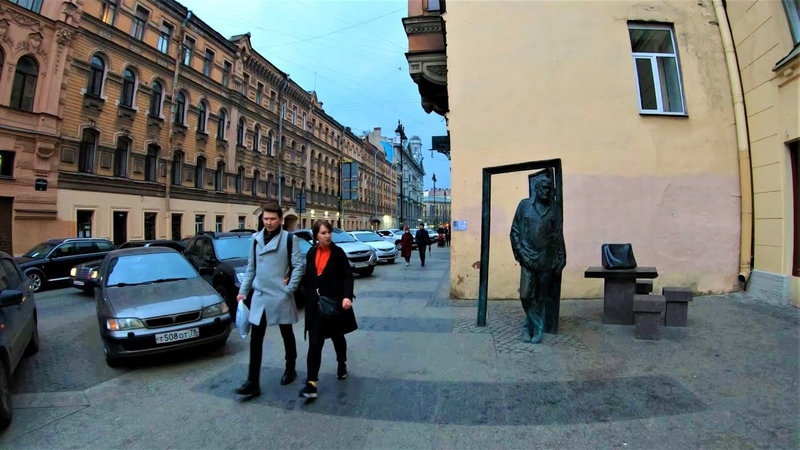 Санкт-Петербург - Прогулка по улице Рубинштейна 4К