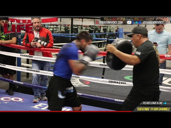 Camp Life Lucas Matthysse Hes Back Full Training and Sparring Footage