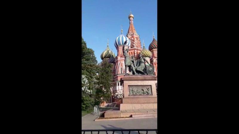 Москва в сердце моём 🤗💜