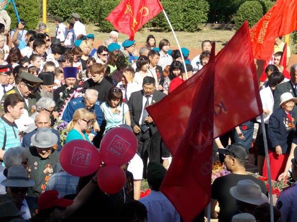 День Победы в Элисте