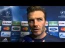 PSG vs Barcelona 2-2 - David Beckham ( Champions League ) (02-04-13)