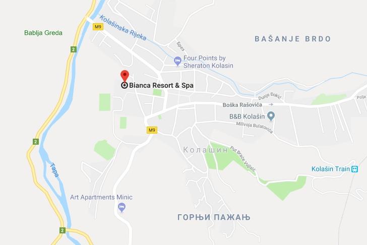 Hotel Bianca Resort & Spa in Montenegro