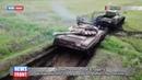 Первые кадры военно-технической эстафеты всеармейского этапа конкурса «Рембат» под Омском
