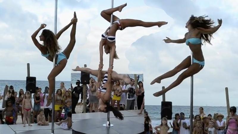 Конкурс танцев на шесте ТАНЦЫ НА ПИЛОНЕ Лучший танец стрип пластика Pole Dance Show