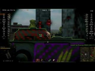 Шкурки с зонами пробития для World Of Tanks 0.8.6