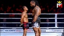 Saenchai vs Titan Biggest Muay Thai Fighter Of All Time