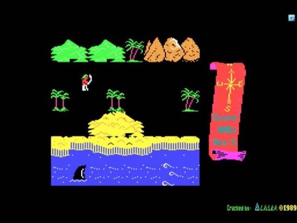 Корвет ПК8010 8020 игра Остров сокровищ Corvette PC8010 8020 Treasure island