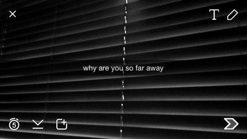 Почему ты так далеко
