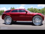 WhipAddict Kandy Red Dodge Magnum SRT8 on New Amani Forged Gordo 32s, Louud Pak Doors!