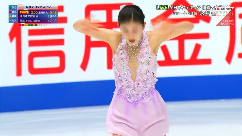 Yuka Nagai 2018 Japanese Nationals FS