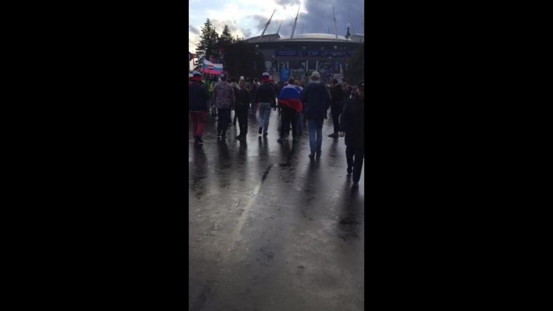 Русские болельщики