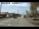 Невьянск авария с бестолковым скутеристом