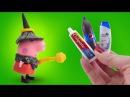 Мультфильм как Свинка Пеппа стала волшебницей на русском языке, новые серии для ...