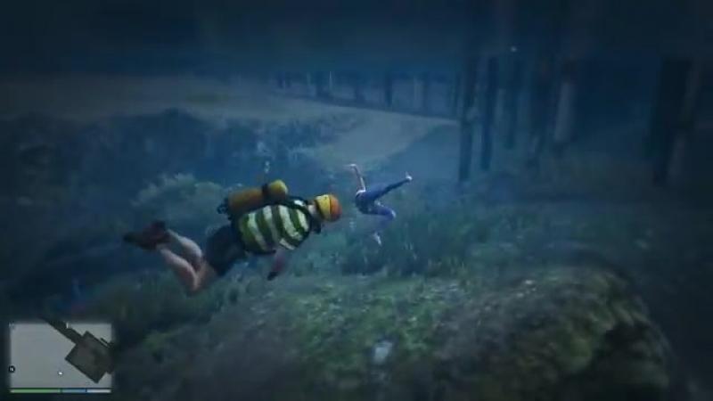 GTA 5 Водные фейлы [Физика эйфории | Забавные моменты]