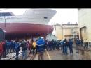 спуск корабля Командор 30.03.18