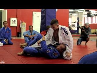 Видеоотчет с семинара Антатолия Азаркина (Beverly Hills Jiu Jitsu Club в России) по bjj в фитнес-холле