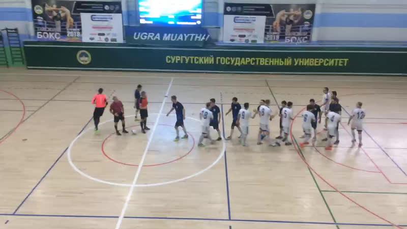 Первая Лига. Плей-офф. УПГ - Динамо-1. 1 тайм