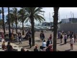 Барселона Прогулка по Набережной Яхты