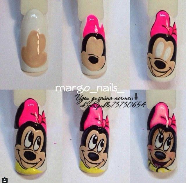 Фото уроки дизайна ногтей