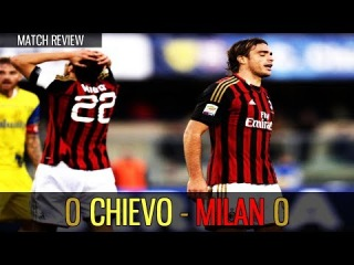 Chievo vs Milan 0-0 (2013/14 Serie A | Matchday # 12) Match Review