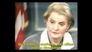 Madeleine Albright 500 mil niños iraquíes muertos