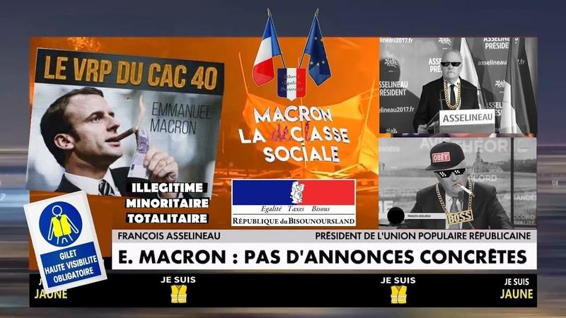 F.Asselineau veut destituer Macron de façon légale et nous explique comment... Mon remix (Hd 720)