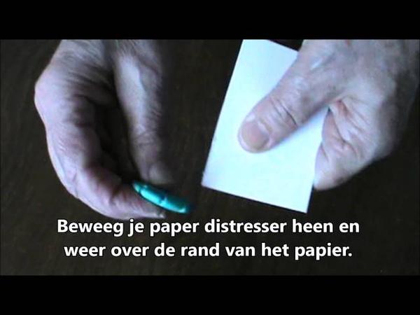 Paper distresser NL