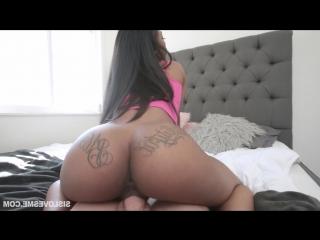 Sarah banks [1080p, ebony, pov, incest, blowjob, sex, порно, порево, трах, секс] - sislovesme