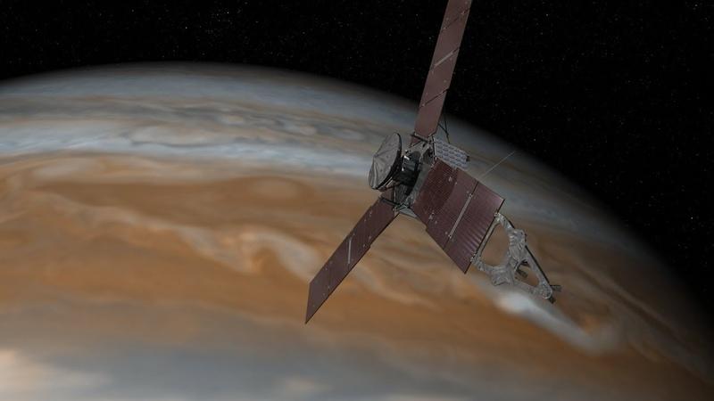 Юпитер. Близкий контакт. Изучение планеты космическим аппаратом Юнона. Космос, Вселенная 22.11.2017