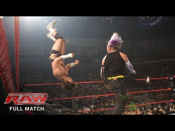 FULL MATCH Jeff Hardy vs Carlito Intercontinental Title Ladder Match Raw Dec 10 2007