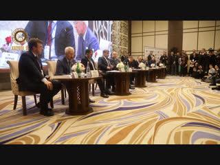 Принял участие в пленарном заседании VI Международного форума СМИ СКФО.