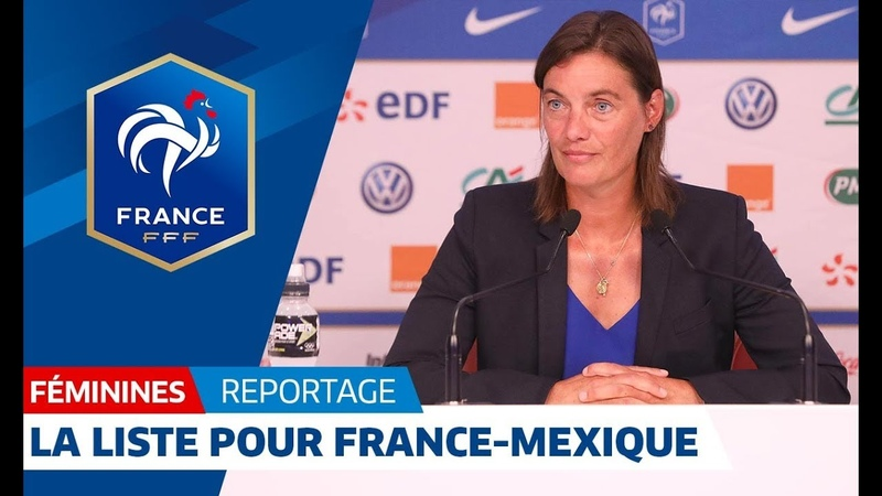 France-Mexique Féminine : 23 joueuses retenues pour la reprise