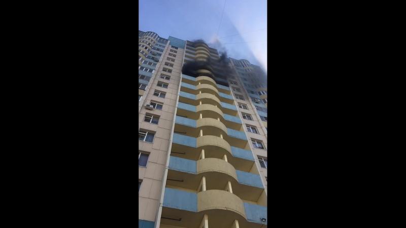 Пожар Салмышская 68