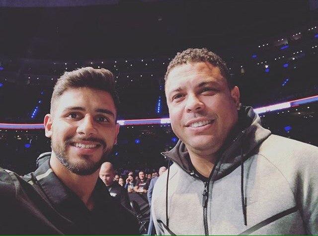 Яир Родригес с Роналдо на прошедшем турнире в Мехико