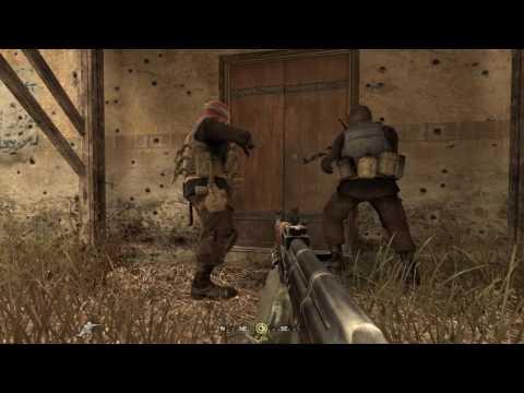 CoD4 - ''SP Backlot'' (Custom Mission Walkthrough)