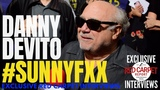 Danny DeVito interviewed at the FXX Premiere for It's Aways Sunny S13 red carpet event #SunnyFXX