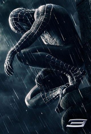 Черный человек паук картинки
