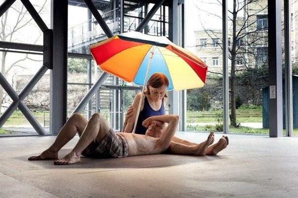 секс с зонтом фото