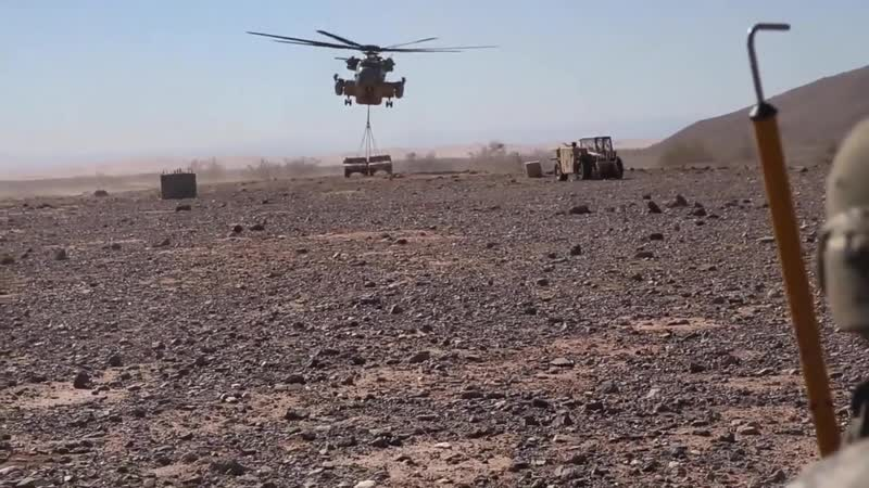 1st Transportation Support Battalion Conducts HST in Yuma, Ariz. YUMA, AZ, UNITED STATES 23.01.2019