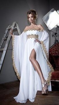 фасон длинных вечерних платьев фото