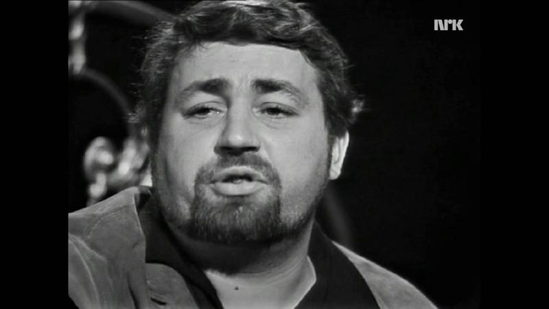 Cornelis Vreeswijk - Jag har en spricka i läppen (Live fra NRK 1966)