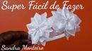 COMO FAZER UMA TIARA COM FLORES FITA DE CETIM N 9 38 MM SANDRA MONTEIRO