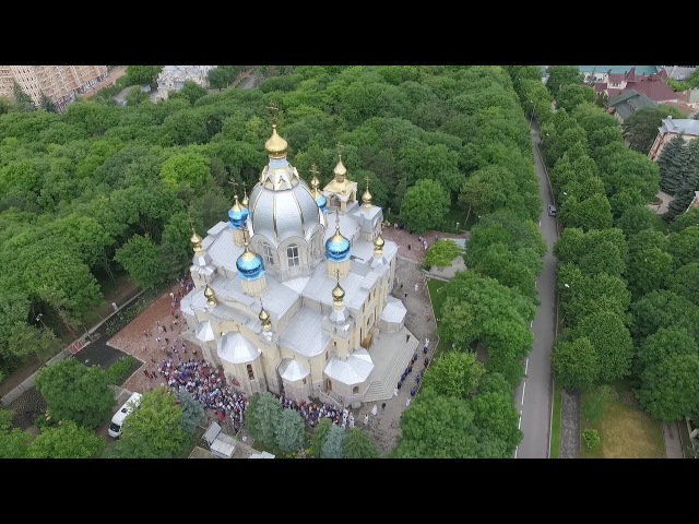 Освящение Пантелеимоновского храма города Ессентуки